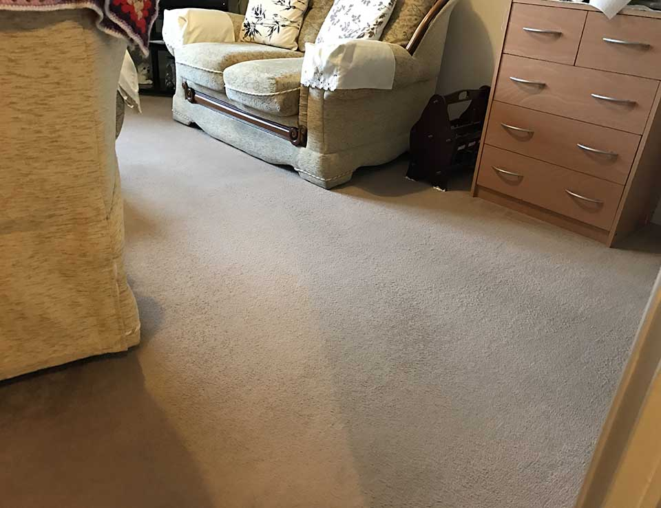 Residential Care Home Carpet Clean